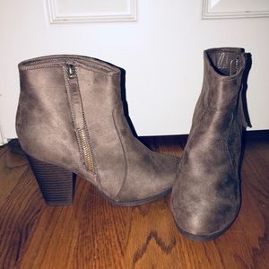 Shoes - Target taupe booties